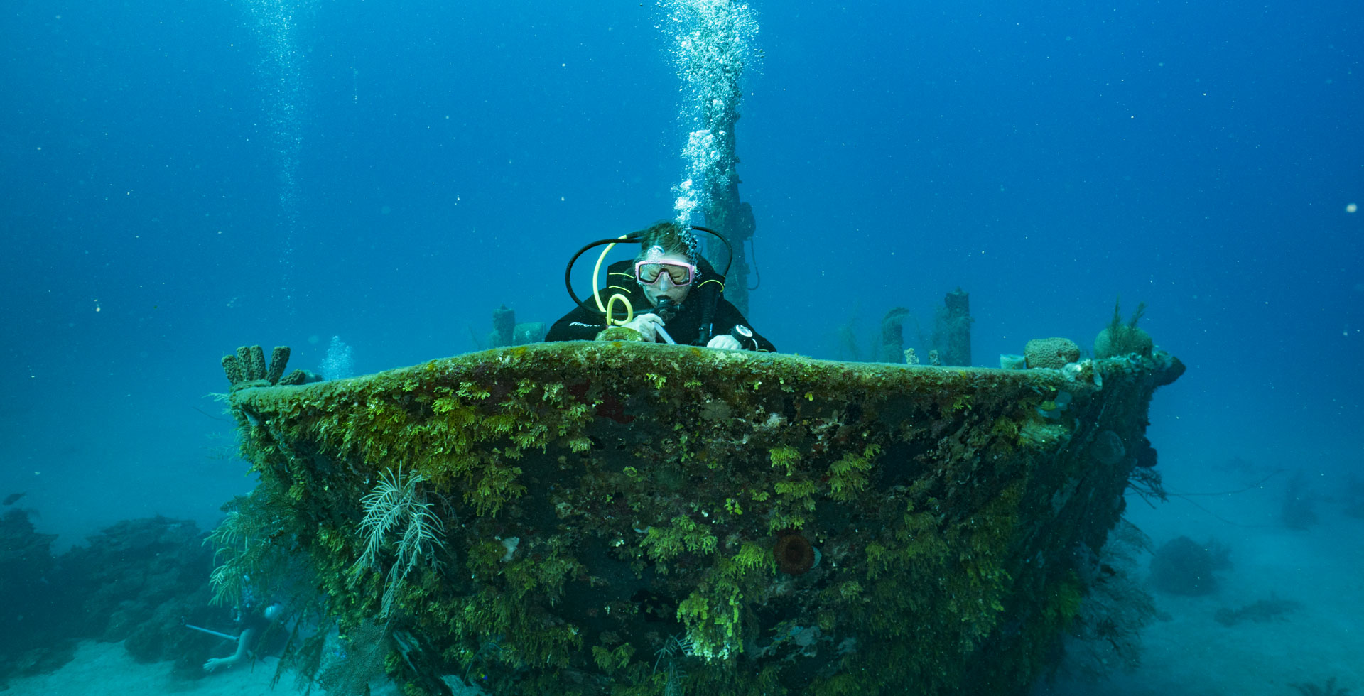 Buceo de naufragio, Utila