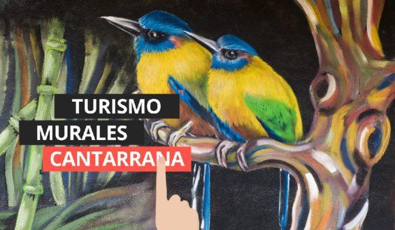 Cantarranas y sus murales